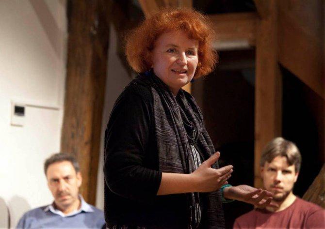 Lucie Němečková, dramaturgyně Národního divadla Brno / Foto: Irena Vodáková