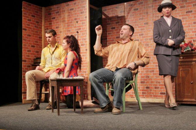 Divadlo Komorní Svět: Imotýli jsou volni. Foto: M.Drtina